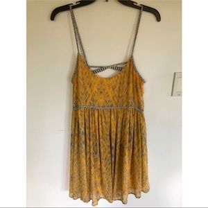 Free people flowy dress!